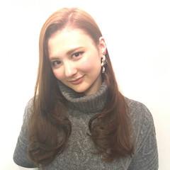 ロング 外国人風 ナチュラル 大人女子 ヘアスタイルや髪型の写真・画像