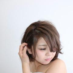 ナチュラル 前髪あり 外国人風 モテ髪 ヘアスタイルや髪型の写真・画像