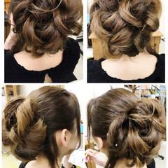 着物 アップスタイル ロング エレガント ヘアスタイルや髪型の写真・画像