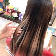 ローライト グラデーション ストリート 夏 ヘアスタイルや髪型の写真・画像