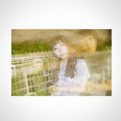 アッシュ ガーリー 外国人風 前髪あり ヘアスタイルや髪型の写真・画像