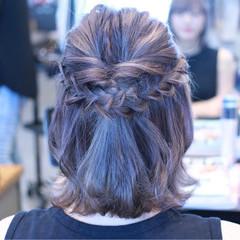 パステルカラー アッシュ 外国人風カラー ナチュラル ヘアスタイルや髪型の写真・画像