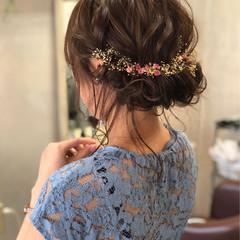 エレガント 上品 ヘアアレンジ 結婚式 ヘアスタイルや髪型の写真・画像