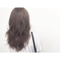 大人かわいい イルミナカラー 外国人風 ロング ヘアスタイルや髪型の写真・画像
