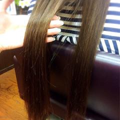 ストレート ナチュラル ロング 暗髪 ヘアスタイルや髪型の写真・画像