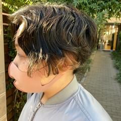 ショートボブ ショートヘア 前下がりボブ ショート ヘアスタイルや髪型の写真・画像
