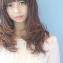 大人かわいい コンサバ 前髪あり レイヤーカット ヘアスタイルや髪型の写真・画像