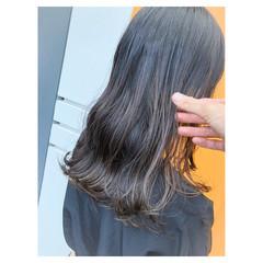 ブルージュ セミロング ストリート 女子力 ヘアスタイルや髪型の写真・画像