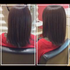 社会人の味方 大人ヘアスタイル ナチュラル 髪質改善トリートメント ヘアスタイルや髪型の写真・画像