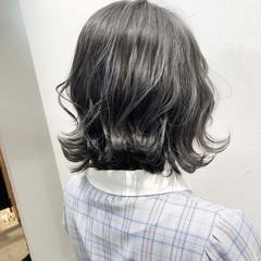 ショートボブ モード ボブ 切りっぱなしボブ ヘアスタイルや髪型の写真・画像
