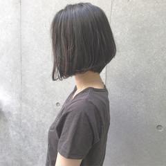 ショート 大人女子 ボブ 前下がり ヘアスタイルや髪型の写真・画像