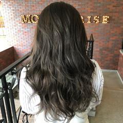 外国人風カラー モード 暗髪 イルミナカラー ヘアスタイルや髪型の写真・画像