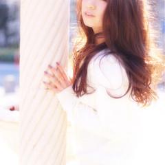 フェミニン パーマ ゆるふわ 大人かわいい ヘアスタイルや髪型の写真・画像