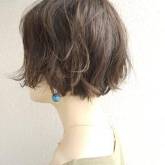 上品 ボブ ショート ショートボブ ヘアスタイルや髪型の写真・画像