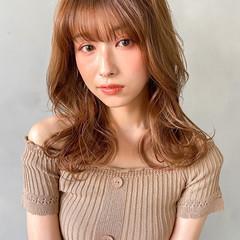 ヨシンモリ 結婚式 セミロング 韓国 ヘアスタイルや髪型の写真・画像