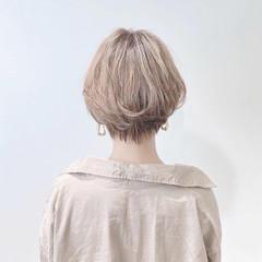 ミニボブ ショート ショートヘア ベリーショート ヘアスタイルや髪型の写真・画像