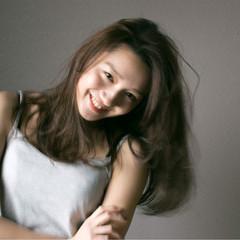 ハイライト ピュア ミディアム 外国人風 ヘアスタイルや髪型の写真・画像
