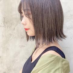タンバルモリ 縮毛矯正 ナチュラル ボブ ヘアスタイルや髪型の写真・画像