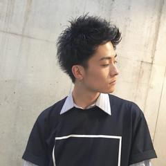 メンズ ボーイッシュ ストリート ショート ヘアスタイルや髪型の写真・画像