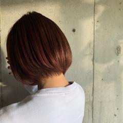 チェリーレッド モード スポーツ カシスレッド ヘアスタイルや髪型の写真・画像