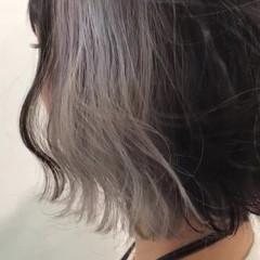 ストリート 透明感 ショート ヘアアレンジ ヘアスタイルや髪型の写真・画像