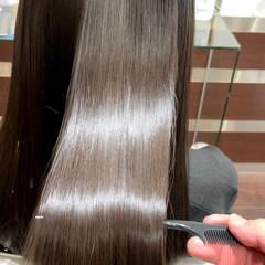 髪質改善トリートメント ロング 艶髪 髪質改善 ヘアスタイルや髪型の写真・画像