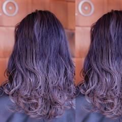 グラデーションカラー ブリーチ ストリート ダブルカラー ヘアスタイルや髪型の写真・画像