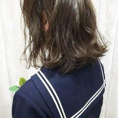 ガーリー ダブルカラー 大学生 高校生 ヘアスタイルや髪型の写真・画像