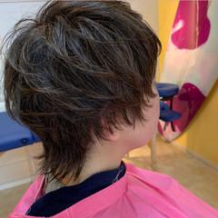 ウルフカット ショートボブ ショートヘア ミニボブ ヘアスタイルや髪型の写真・画像
