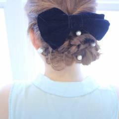 モテ髪 大人かわいい ヘアアレンジ コンサバ ヘアスタイルや髪型の写真・画像