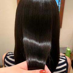 髪質改善トリートメント セミロング ナチュラル 髪質改善 ヘアスタイルや髪型の写真・画像
