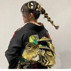 成人式ヘア ヘアセット 成人式ヘアメイク着付け ロング ヘアスタイルや髪型の写真・画像
