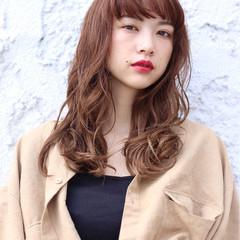 ロング ナチュラル 秋 透明感 ヘアスタイルや髪型の写真・画像