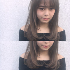 ハイライト 大人かわいい ナチュラル 透明感 ヘアスタイルや髪型の写真・画像