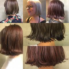 女子会 ボブ リラックス 簡単ヘアアレンジ ヘアスタイルや髪型の写真・画像