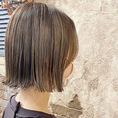 ブリーチカラー ボブ ストリート ミニボブ ヘアスタイルや髪型の写真・画像
