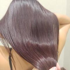 ロング おフェロ アディクシーカラー 髪質改善 ヘアスタイルや髪型の写真・画像