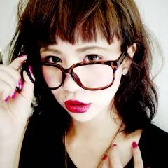 丸顔 フェミニン ガーリー ストリート ヘアスタイルや髪型の写真・画像