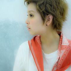 レイヤーカット ストリート 外国人風 アッシュ ヘアスタイルや髪型の写真・画像