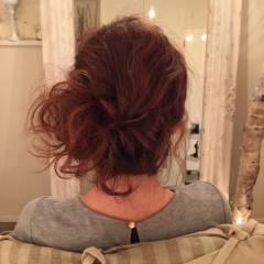 ナチュラル ゆるふわ ヘアアレンジ ロング ヘアスタイルや髪型の写真・画像