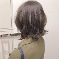 アンニュイほつれヘア オフィス デート ボブ ヘアスタイルや髪型の写真・画像