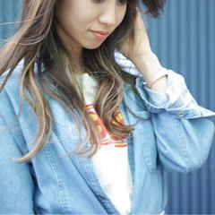 透明感 簡単ヘアアレンジ ロング ヘアアレンジ ヘアスタイルや髪型の写真・画像