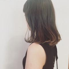 ストリート くせ毛風 ミディアム アッシュ ヘアスタイルや髪型の写真・画像