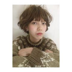 ショート ストリート 外国人風 外国人風カラー ヘアスタイルや髪型の写真・画像