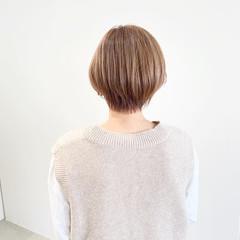 ショートヘア ショートボブ ショート ミニボブ ヘアスタイルや髪型の写真・画像