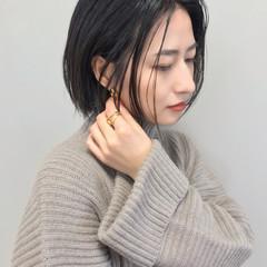 大人女子 福岡市 ボブ ヘアカラー ヘアスタイルや髪型の写真・画像