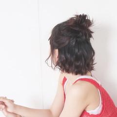 ヘアアレンジ リラックス ナチュラル 大人かわいい ヘアスタイルや髪型の写真・画像