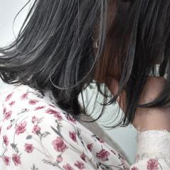 ナチュラル グレージュ 女子会 ボブ ヘアスタイルや髪型の写真・画像