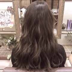 ガーリー ミディアム 暗髪 外国人風 ヘアスタイルや髪型の写真・画像