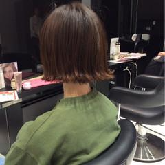 色気 イルミナカラー ボブ ストリート ヘアスタイルや髪型の写真・画像